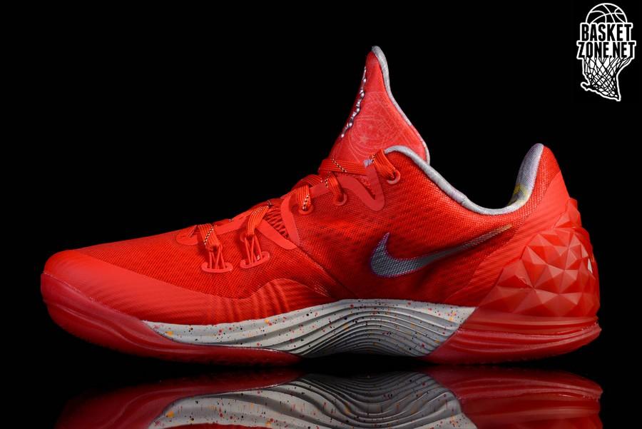Nike Zoom Kobe Venomenon 5 - Zapatillas de Baloncesto, Hombre, Verde/Naranja/Gris, 47 1/2