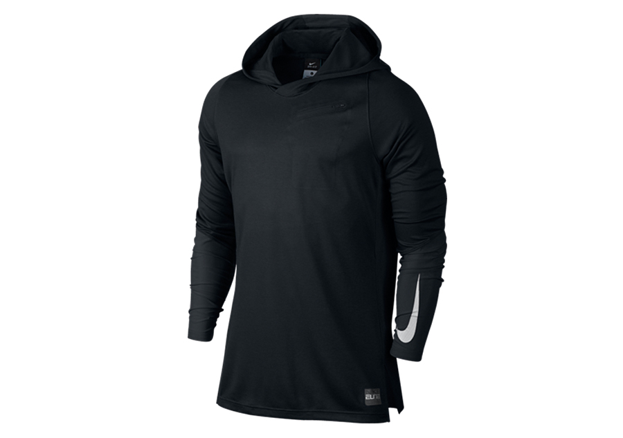 NIKE HYPER ELITE HOODED SHOOTER BLACK Por EUR4750