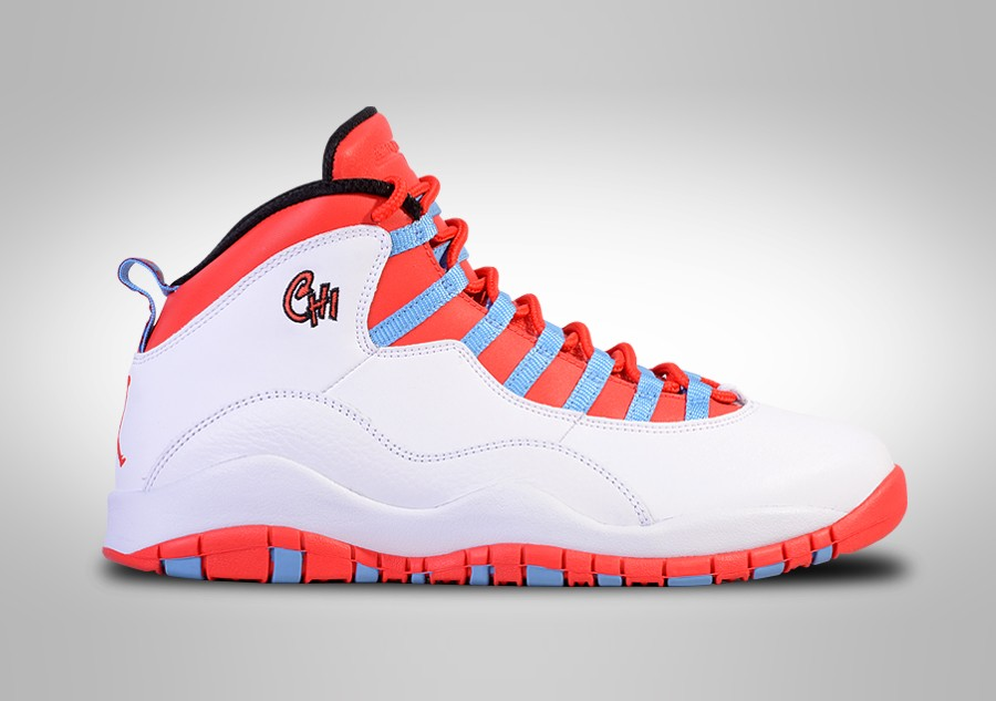 new products 788f7 6c59a NIKE AIR JORDAN 10 RETRO CHICAGO price €175.00   Basketzone.net