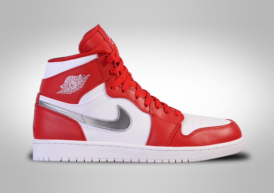 Nike Air Force 1 High '07 - para Hombre, Gym Red/Gym Red-White, Talla 41