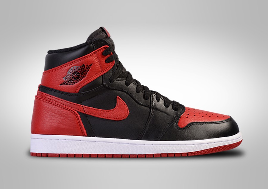 NIKE AIR JORDAN 1 RETRO HIGH OG GS BRED BANNED