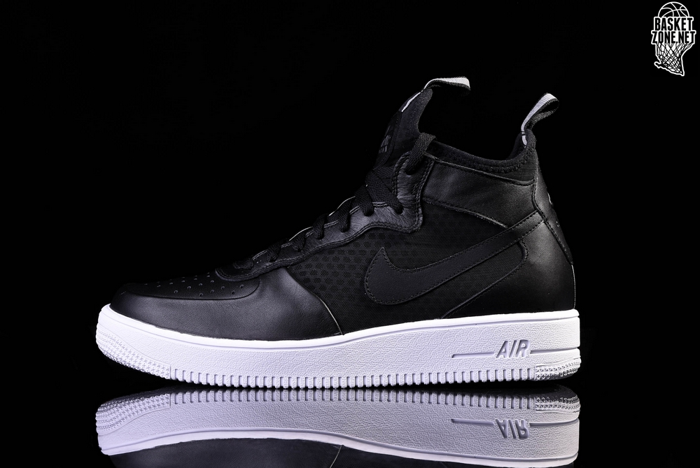 promo code ca8d9 3af63 NIKE AIR FORCE 1 ULTRAFORCE MID BLACK-WHITE