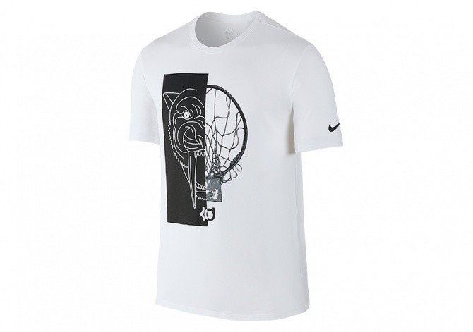 NIKE KD ART 1 DRY FIT TEE WHITE