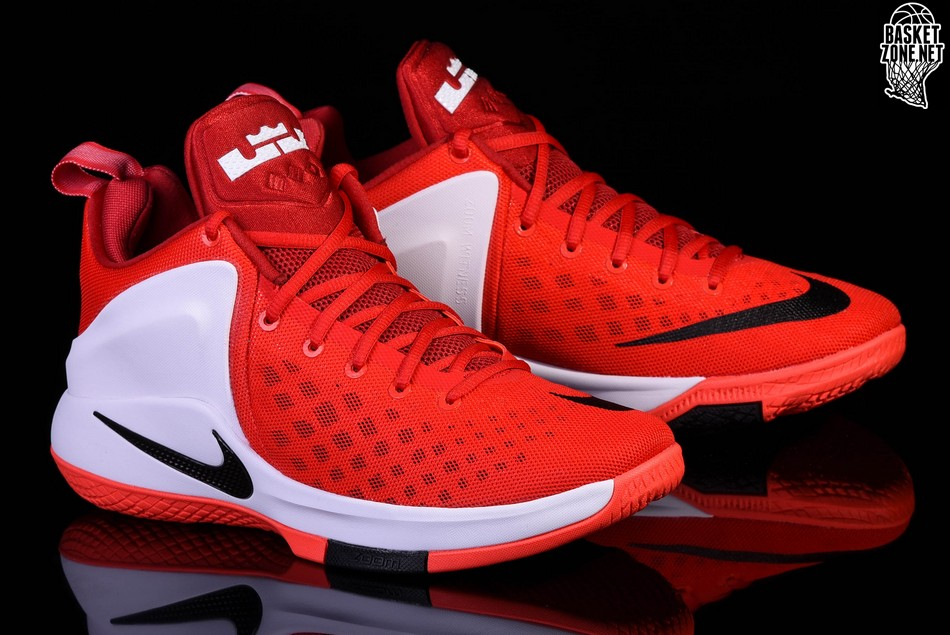 outlet store 0cafa c4414 NIKE LEBRON ZOOM WITNESS CAVS RED