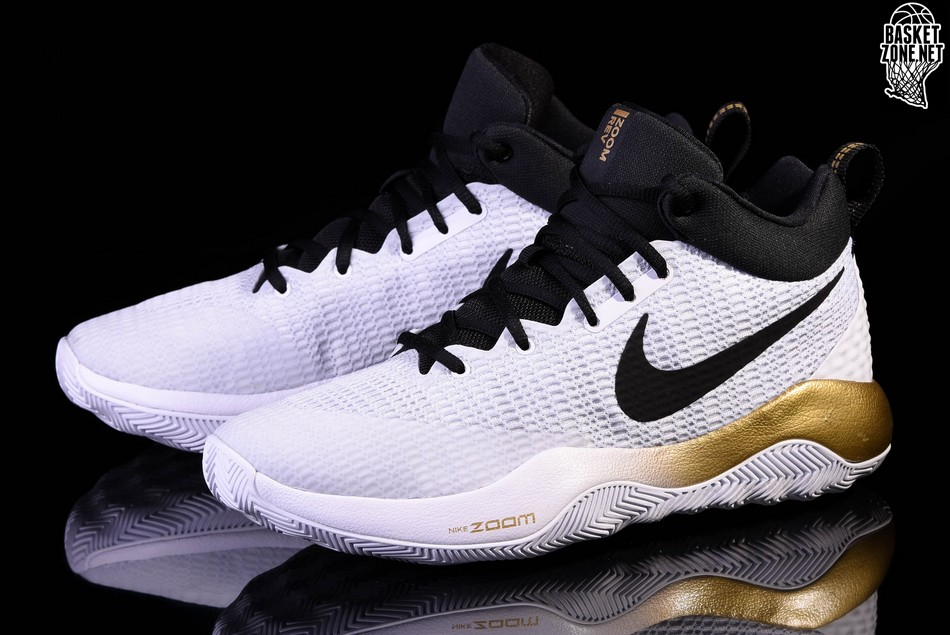 hot sales 74563 e71ad NIKE ZOOM REV 2017 METALLIC GOLD DEVIN BOOKER