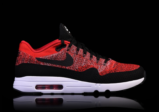 NIKE AIR MAX 1 ULTRA 2.0 FLYKNIT UNIVERSITY RED