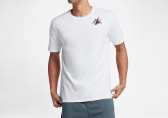 NIKE AIR JORDAN BOX TEE WHITE