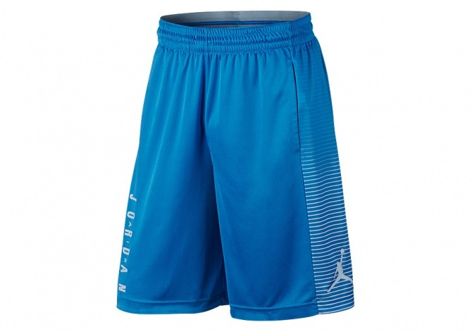 NIKE AIR JORDAN GAME BASKETBALL SHORT LIGHT PHOTO BLUE