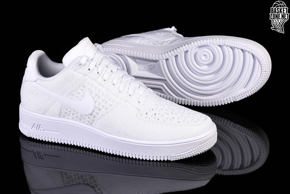 lowest price 97e24 86279 NIKE AIR FORCE 1 ULTRA FLYKNIT LOW WHITE price €122.50 ...