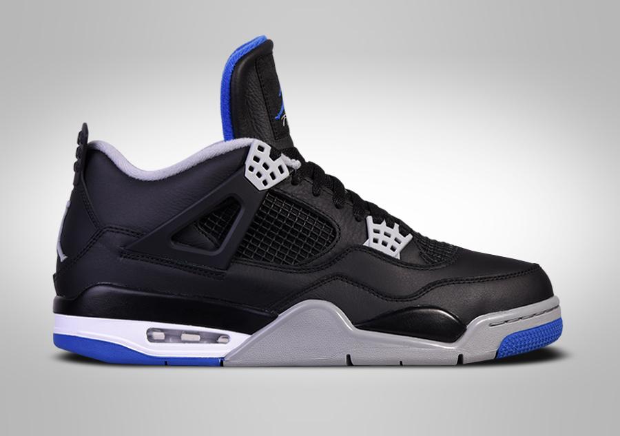 Nike Air Jordan 4 Chaussures Rétro Des Hommes De Cuir Noir 308497-006 best-seller de sortie GyBGQnUeo