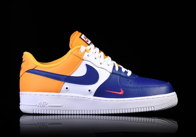 save off 1c6cb 3ab1d NIKE AIR FORCE 1 07 LV8 MINI SWOOSH BARCELONA