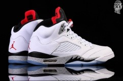 2e9c0775c254 NIKE AIR JORDAN 5 RETRO WHITE CEMENT price €185.00