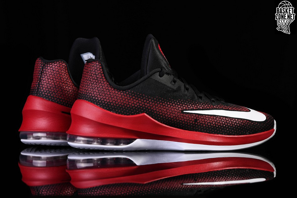 best service 70a3b d4adb hot nike mens shoes nike air max infuriate mid basketball shoe red white  black 336d5 1fb6f  discount nike air max infuriate low bred 7bd0e 7e3da