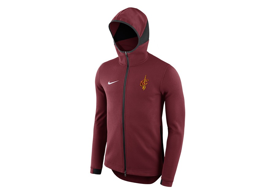 NIKE NBA CLEVELAND CAVALIERS DRY SHOWTIME HOODIE TEAM RED per €92 3015789075a