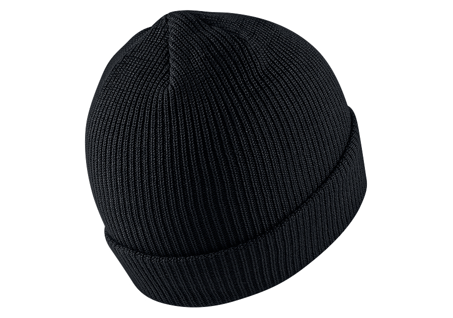 bdd065d3 NIKE AIR JORDAN LOOSE GAUGE CUFF KNIT BEANIE BLACK price €32.50 ...