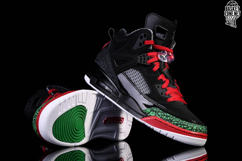 sports shoes a6f23 4405f NIKE AIR JORDAN SPIZIKE BLACK RED POISON GREEN