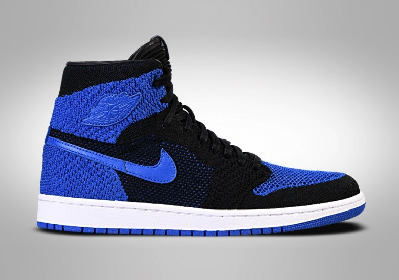 f2daf04a477 NIKE AIR JORDAN 1 RETRO HIGH FLYKNIT ROYAL BLUE für €132,50 ...
