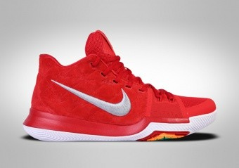 online retailer 49803 a9e6f BASKETBALL SHOES. BASKETBALL SHOES. NIKE KYRIE 3 RED SUEDE