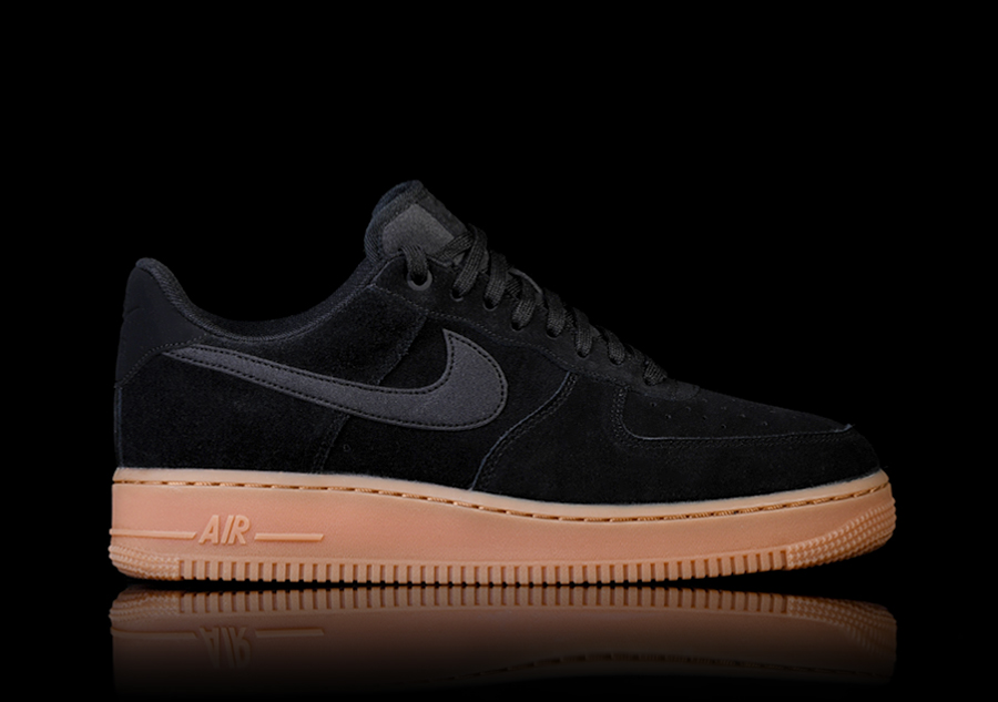 brand new 01044 1a579 NIKE AIR FORCE 1  07 LV8 SUEDE BLACK por €109,00   Basketzone.net