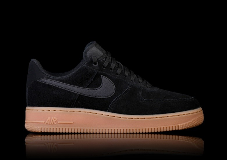 NIKE AIR FORCE 1 '07 LV8 SUEDE BLACK