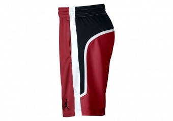 70967150b NIKE AIR JORDAN FLIGHT BASKETBALL SHORTS GYM RED por €42
