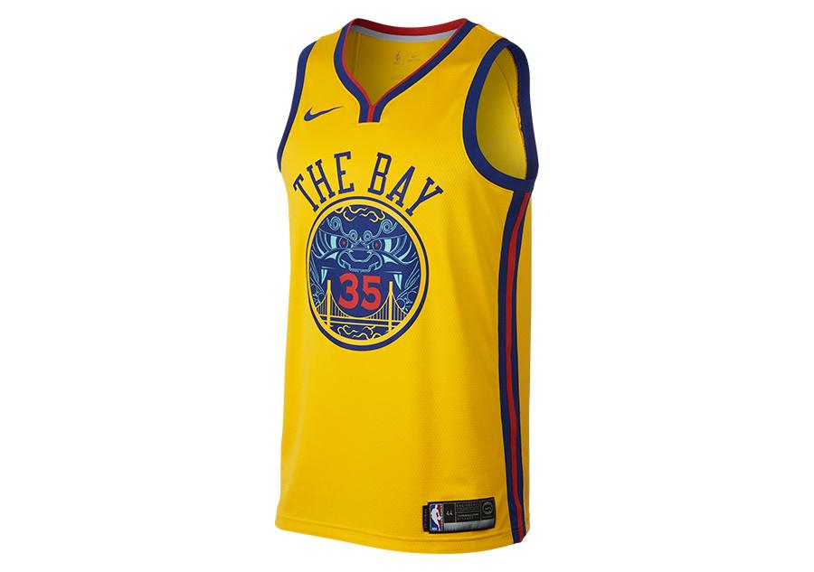 NIKE NBA KEVIN DURANT GOLDEN STATE WARRIORS CITY EDITION SWINGMAN JERSEY  AMARILLO por €77 e782c4dd71f