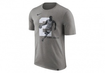 NIKE NBA KAWHI LEONARD SAN ANTONIO SPURS DRY TEE DARK GREY HEATHER