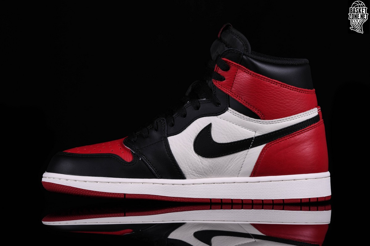 NIKE AIR JORDAN 1 RETRO HIGH OG BRED TOE BG pour €185 fd02cdf62e7e