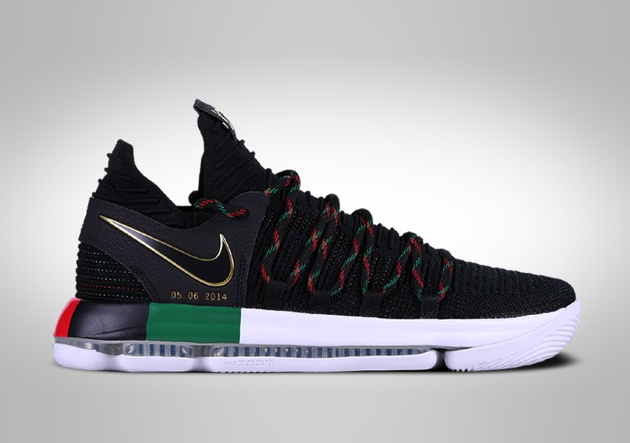 6cdab51abeb ... black history month sneakers kicks runners mens shoes 2d075 e6819   official store nike zoom kd 10 bhm limited por 14500 basketzone d558b 9195d
