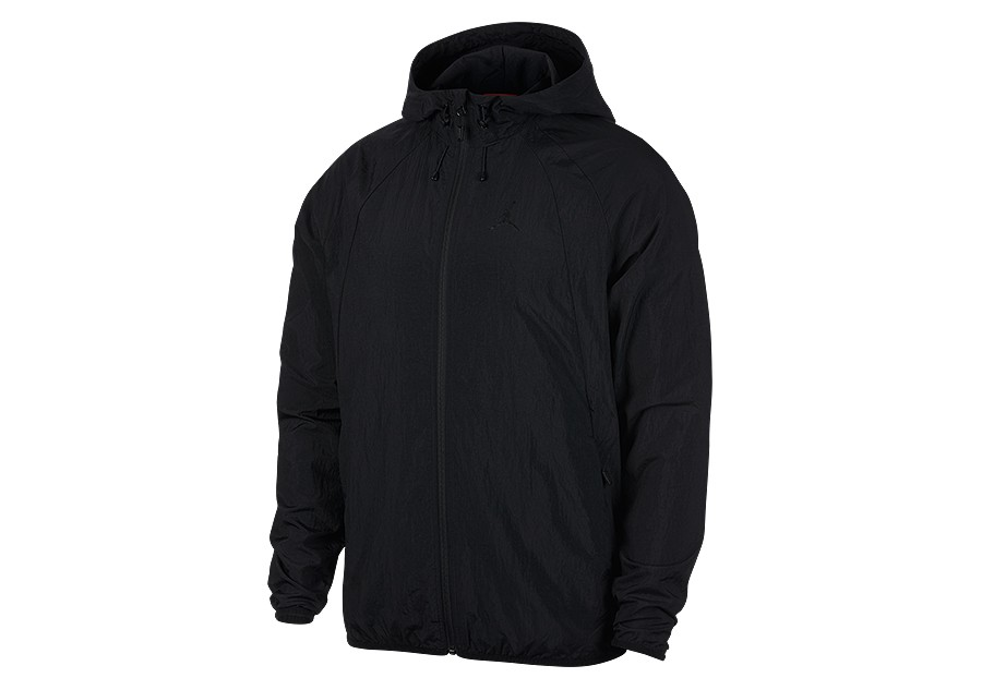 8680f597b9a0c8 NIKE AIR JORDAN SPORTSWEAR WINGS WINDBREAKER BLACK price €87.50 ...