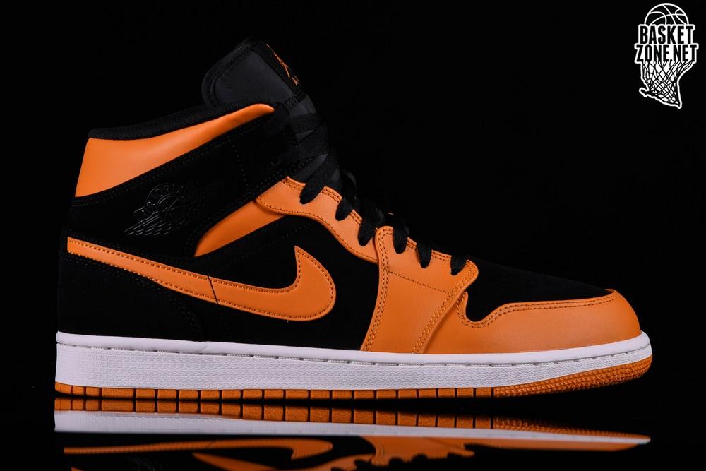Peel Jordan Orange 1 Black Air Retro Nike Per Mid 7Tq0Ona