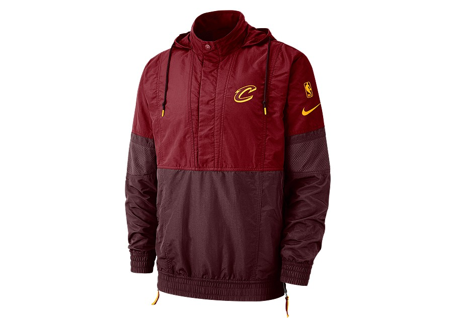 NIKE NBA CLEVELAND CAVALIERS COURTSIDE JACKET TEAM RED price €132.50 ... 63b857f20c0