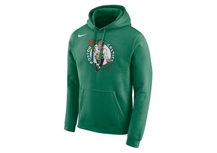 NIKE NBA BOSTON CELTICS LOGO HOODIE CLOVER price €62.50