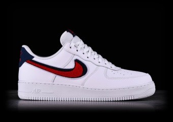 newest 3188c ff617 NIKE AIR FORCE 1  07 LV8 CHENILLE SWOOSH