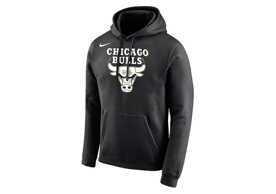ae58941a7780 NIKE NBA CHICAGO BULLS LOGO HOODIE BLACK price €62.50