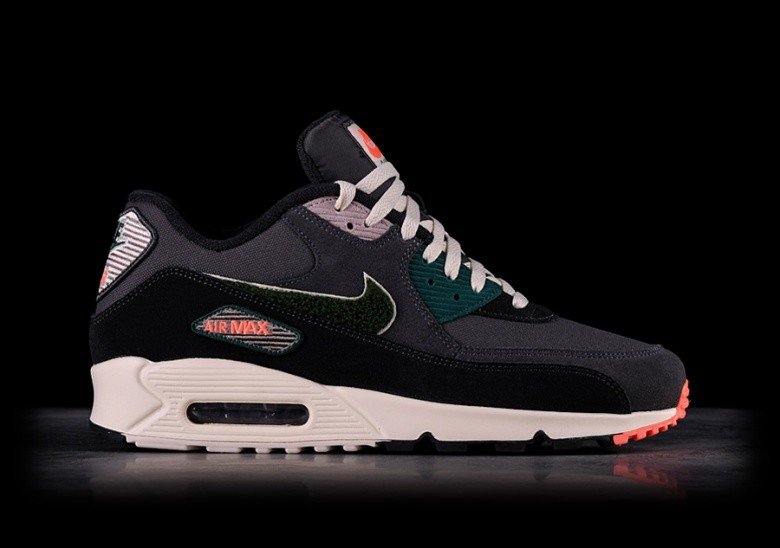 the best attitude 09204 960be NIKE AIR MAX 90 PREMIUM SE OIL GREY per €127,50 | Basketzone.net