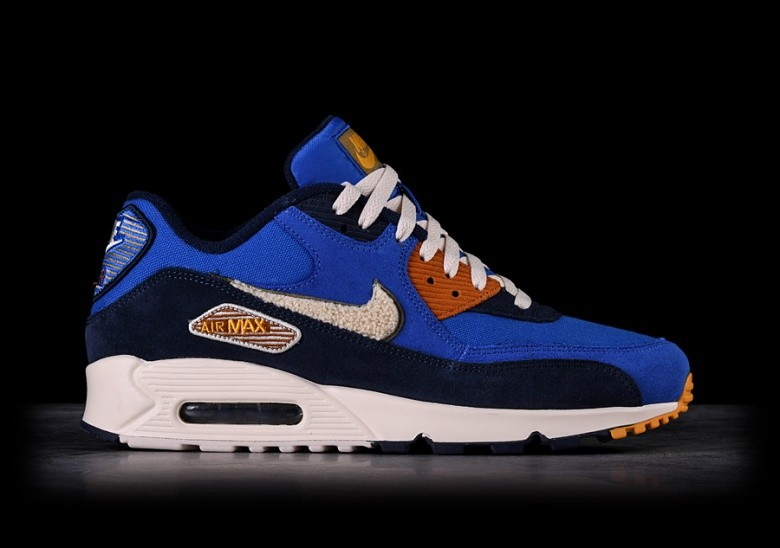 b1ff4bcf4 NIKE AIR MAX 90 PREMIUM SE GAME ROYAL & LIGHT CREAM voor €145,00 ...