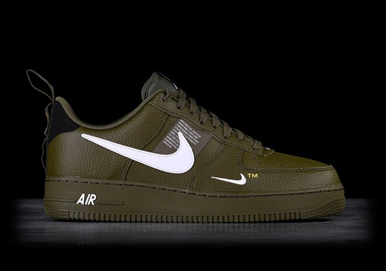 the best attitude a8346 71c6c NIKE AIR FORCE 1 '07 LV8 UTILITY OLIVE CANVAS per €115,00 ...