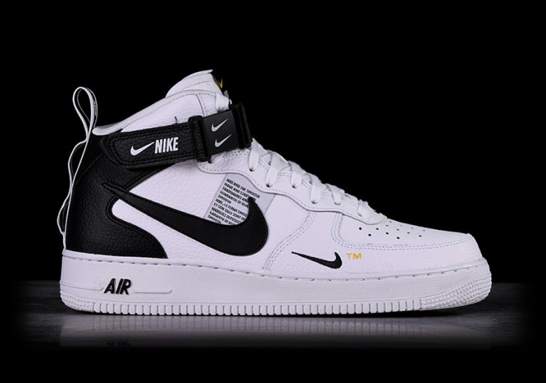 Nike Air Force 1 Utility Mid Bianco AQ9758 100