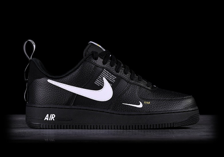 best service 03838 92d46 NIKE AIR FORCE 1 07 LV8 UTILITY BLACK