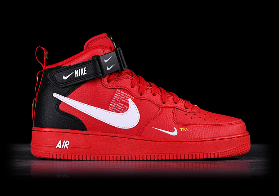 huge discount 8904e 9c80d NIKE AIR FORCE 1 MID  07 LV8 UTILITY RED por €127,50   Basketzone.net