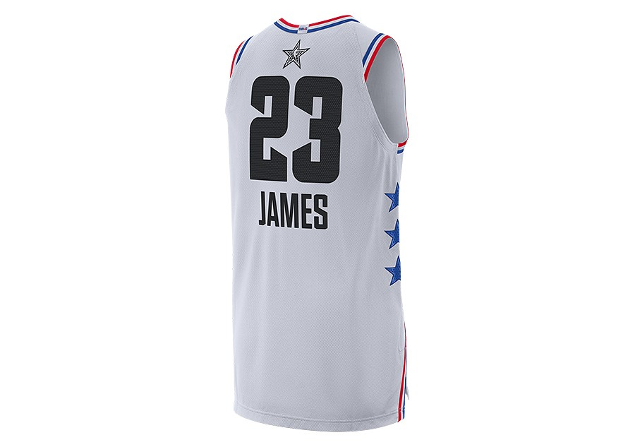 6f5b493671e NIKE AIR JORDAN NBA ALL STAR WEEKEND 2019 LEBRON JAMES AUTHENTIC JERSEY  WHITE