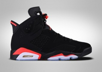 new style 9a990 6fcc8 BASKETBALL SHOES. NIKE AIR JORDAN 6 RETRO BLACK INFRARED