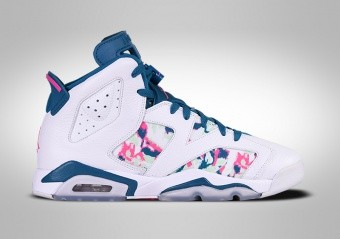 NIKE AIR JORDAN 6 RETRO GREEN ABYSS (GS)