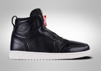 NIKE AIR JORDAN 1 HIGH ZIP BLACK