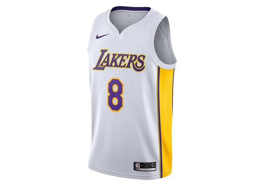 cc611a18 NIKE NBA LOS ANGELES LAKERS KOBE BRYANT SWINGMAN HOME JERSEY WHITE por  €95,00 | Basketzone.net