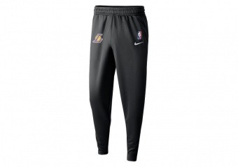 NIKE NBA LOS ANGELES LAKERS SPOTLIGHT PANTS BLACK