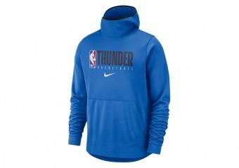 NIKE NBA OKLAHOMA CITY THUNDER SPOTLIGHT PULLOVER HOODIE SIGNAL BLUE