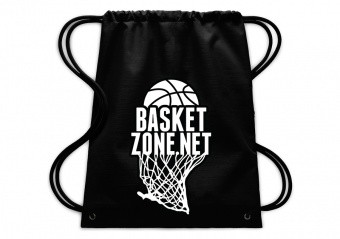 BASKETZONE.NET GYMSACK BLACK