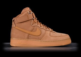 NIKE AIR FORCE 1 HIGH '07 FLAX/GUM LIGHT